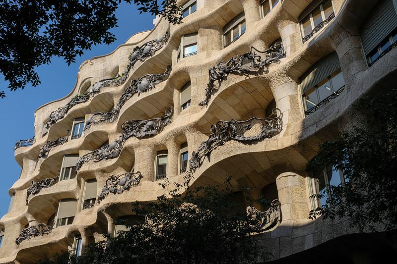 "Gaudi's ""La Pedrera"""