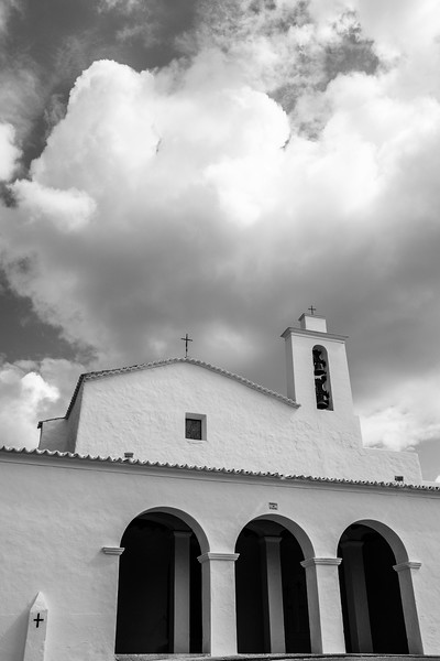 Church in small town of Sant Mateu