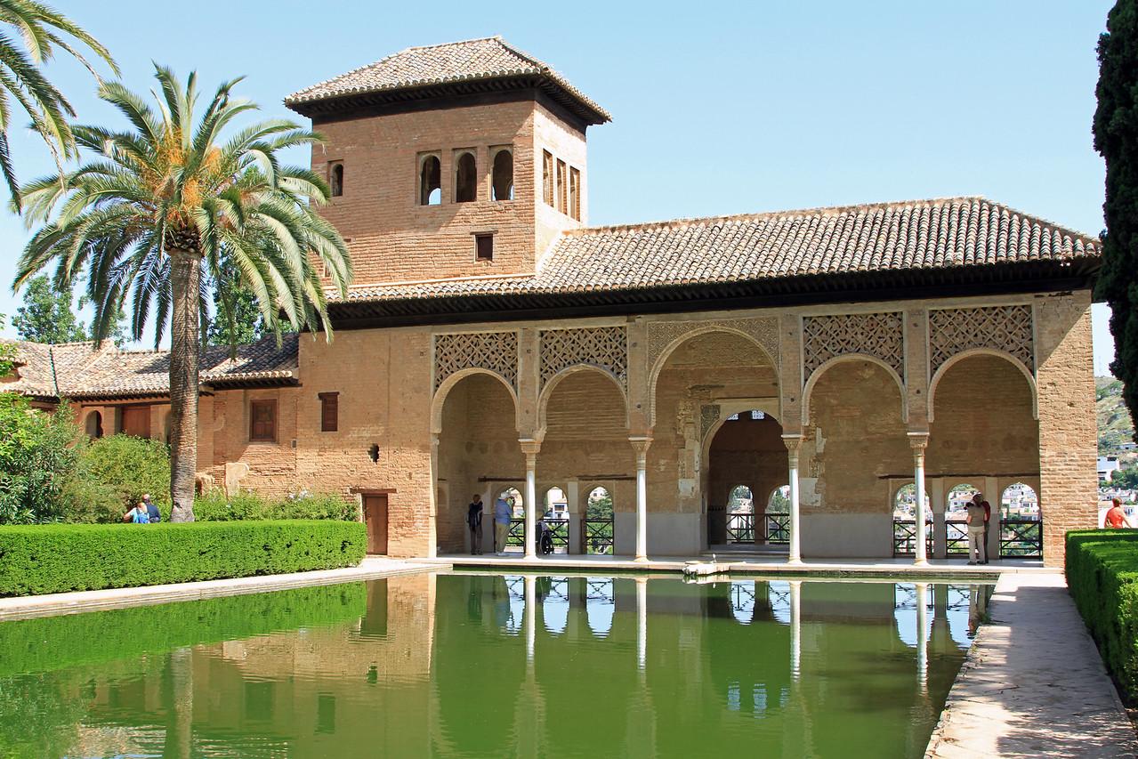 Palacio del Partal, Alhambra, Granada.
