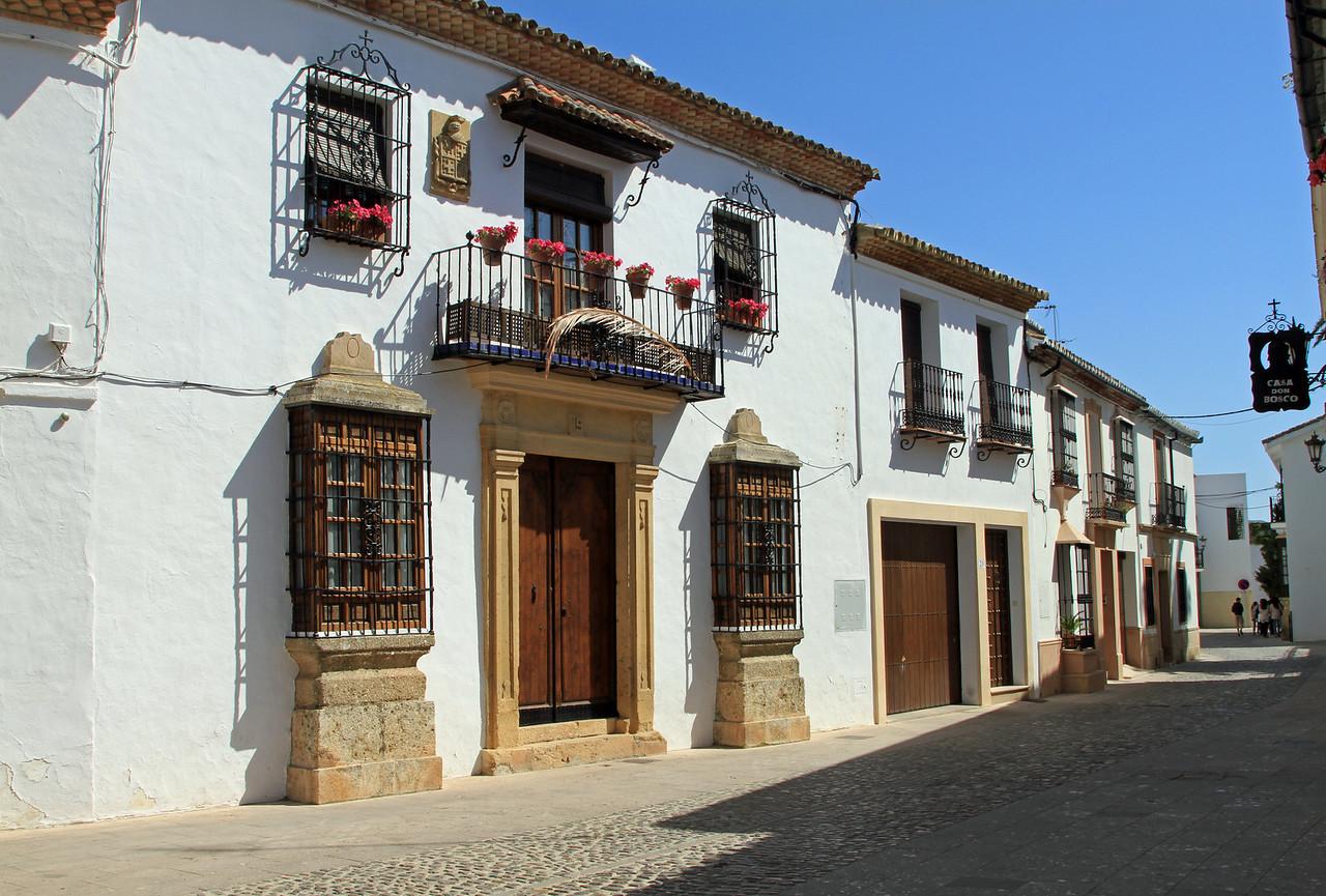 Ronda street scene.