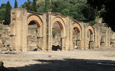 Arches at Medina Azahara, outside Cordoba.