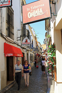 Street and shops, Cordoba.