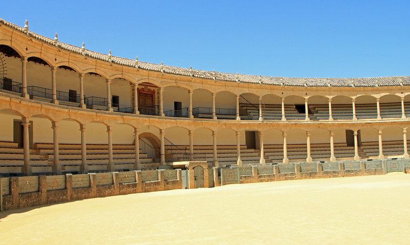 The bullring at Ronda.