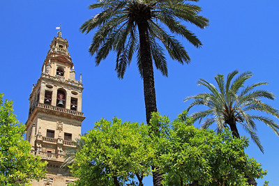 Torre del Alminar, Mezquita, Cordoba.