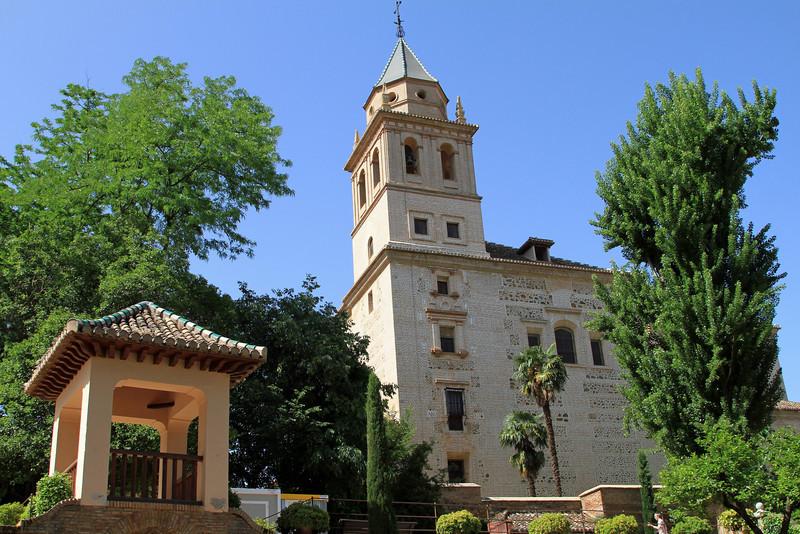 Iglesia de Santa Maria, Alhambra, Granada.