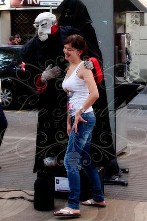 Las Ramblas Street Entertainers