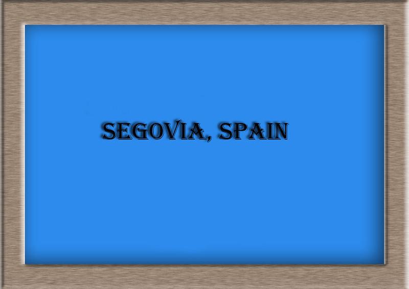 Segovia, Spain  jpg