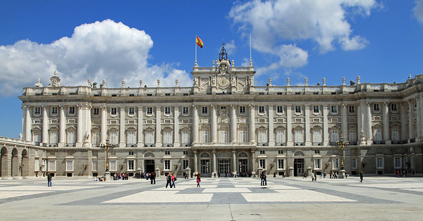 Madrid - Palacio Real, Madrid's Royal Palace.