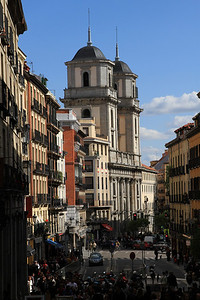 Madrid - Colegiata de San Isidro, 17th century church built by the Jesuits near Plaza Mayor.