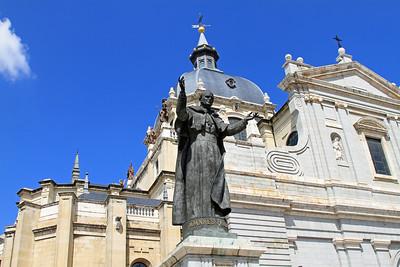 Madrid - Catedral de Nuestra Senora de la Almudena.