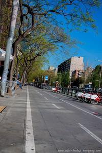 cyclist path