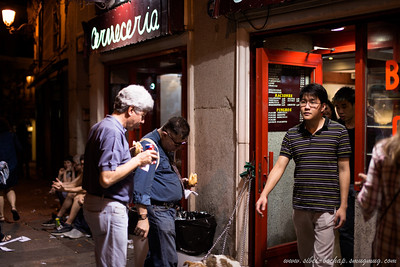 searching the seedy madrid underside for the best calamari sandwich in the city