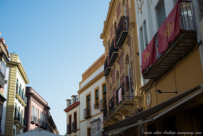 late afternoon in Seville