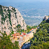 Santa Maria de Montserrat is a Benedictine abbey located on the mountain of Montserrat, in Monistrol de Montserrat, in Catalonia, Spain.The mountain Montserrat with the Benedictine monastery of Santa Maria de Montserrat lies about 45 km northwest of Barcelona.
