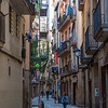 The charming Gothic Quarter, or Barri Gòtic, has narrow medieval streets filled with trendy bars, clubs and Catalan restaurants.