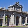 The Puerto de Alcalá (begun in 1769) served as a gateway into Madrid.