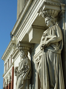 Allegorical figures atthe Ministry of Agriculture.