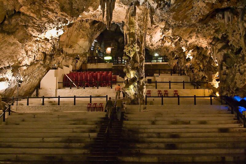 Auditorium in St. Michael's Caves