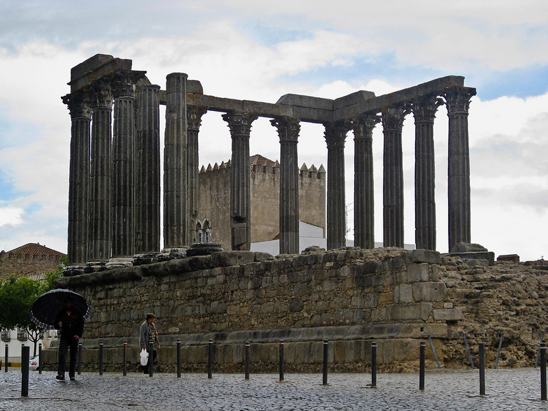 Ancient ruins of Diana's Temple