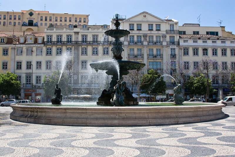 Rossio; also known as Praça dom Pedro IV