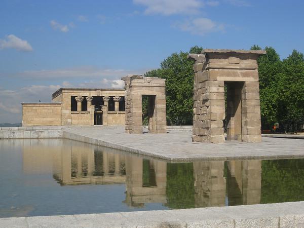 Parque del Oeste - Templo de Debod