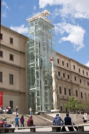 Reina Sofia Museum, home to Picasso's Guernica