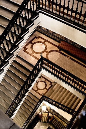 Staircase; Hotel Alfonso XIII