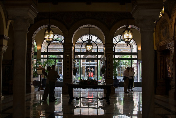 Lobby; Hotel Alfonso XIII