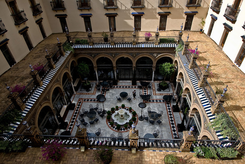 Patio; Hotel Alfonso XIII
