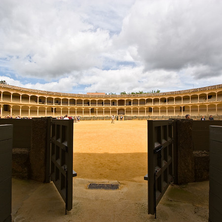 The Plaza de Toros of Ronda is the oldest bullfighting ring in Spain that is still in use.
