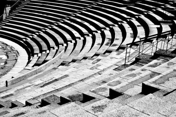Merida -Amphitheater remains