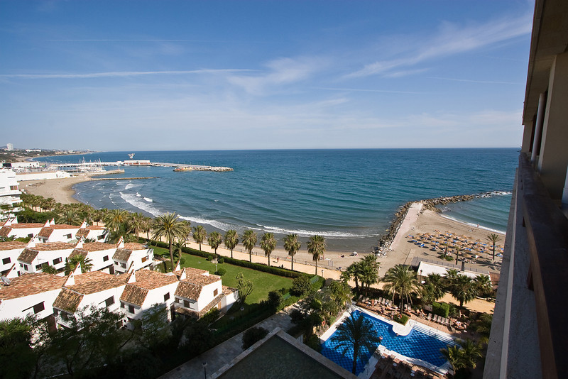 Beachfront in Marbella