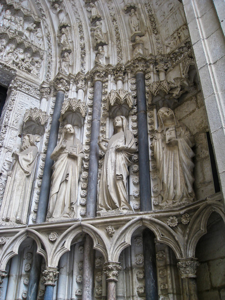 Cathedral of Toledo; exterior detail
