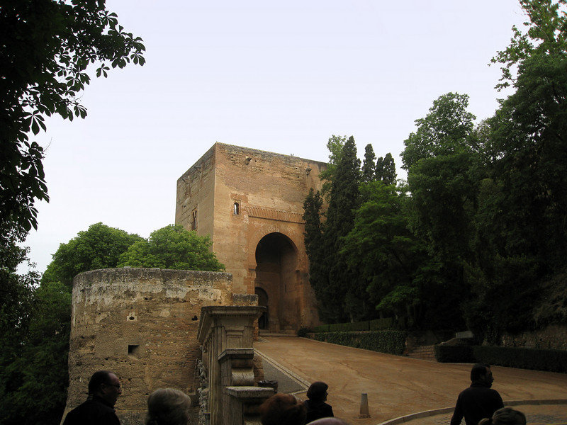 Approach to Alhambra
