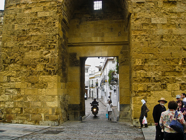 Entrance to the Jewish quater of Cordoba