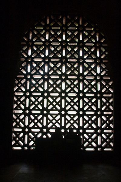 The Mezquita; window detail
