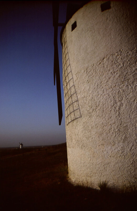 Windmills, Herencia, Spain