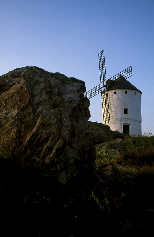 Windmill, Herencia, Spain