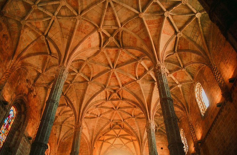 Cathedral ceiling, Seville, Spain