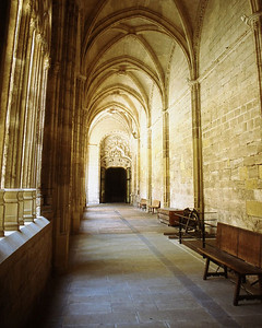 Cathedral cloister, Avila, Spain