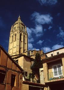 City square, Toledo, Spain