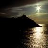 Sun silhouettes, San Sebastián
