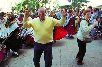 Street dancing, Salamanca
