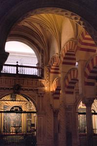 Interior arches, La Mezquita, Córdoba