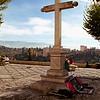 Cross overlooking La Alhambra, Granada