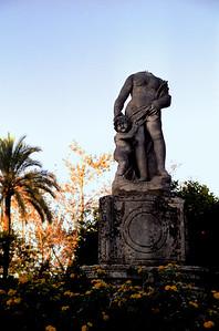 Statue in Sevilla