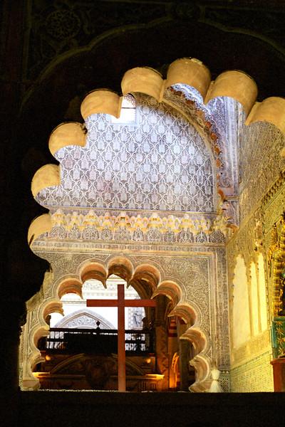 Interior of La Mezquita, Córdoba