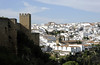 Ronda, Fri 2 May 2014 1. Looking north along the city walls.  Ronda was occupied by the Moors until 1485.