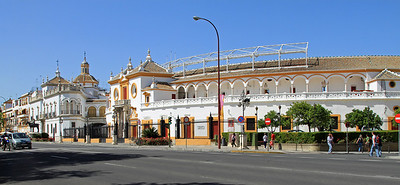 Plaza de Toros de la Maestranza, Sevilles historic bullring built between 1761-1881.