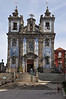 We flew to Porto and stayed across from this fine chapel..Igreja de Sto Lidefonso. Note the tiles.